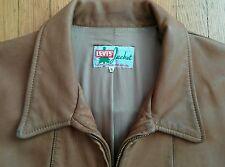 LEVI LVC VINTAGE 1940s LONE PINE TAN LEATHER JACKET XL - Make BEST OFFER
