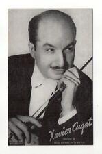Xavier Cugat 1940's-50's Mutoscope Music Corp of America Arcade Card Postcard