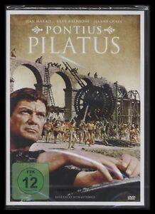 DVD PONTIUS PILATUS - BASIL RATHBONE + JEAN MARAIS - Historienfilm *** NEU ***