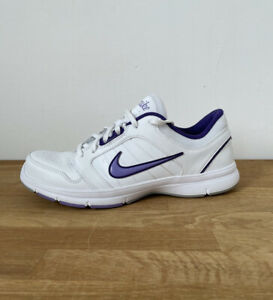 Womens Nike Steady IX White Running Trainers Lace Up Size 7.5
