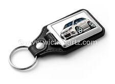 WickedKarz Cartoon Car Vauxhall Zafira Model B VXR/SRi in White Key Ring
