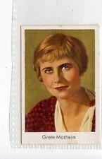 (Jd3609) SALEM,FILM STARS,GRETE MOSHEIM,1930,#88