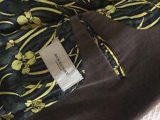 mans vintage BURBERRY velvet jacket, iconic, printed lining. AMAZING- worn
