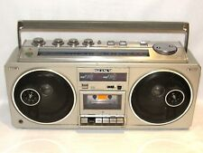 Sony CFS-66 Boombox Vintage Ghetto Blaster Heavy AS-IS