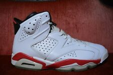 CLEAN Nike Air Jordan 6 VI Retro White Infrared Pack 2012 Bulls Chicago Size 10