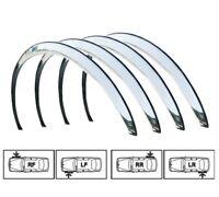 VAUXHALL OPEL VIVARO Wheel Arch Trims '06-14 Brand New 4 pcs. Front Rear CHROME
