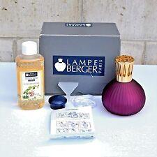 LAMPE BERGER Catalytic Fragrance Lamp Purple Gold Cap Honeysuckle Fragrance Oil