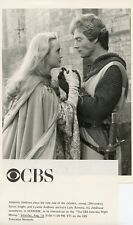 LYSETTE ANTHONY ANTHONY ANDREWS IVANHOE ORIGINAL 1985 CBS TV PHOTO