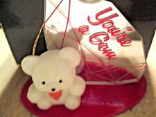 Vintage Avon *Valentine Teddy Bear Collection*You'Re A Gem*New In Box*Old Stock