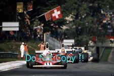 CLAY REGAZZONI FERRARI 312 T Winner Italian Grand Prix 1975 Fotografia