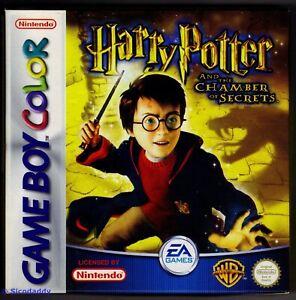 GBC Harry Potter & The Chamber of Secrets (2002), Brand New