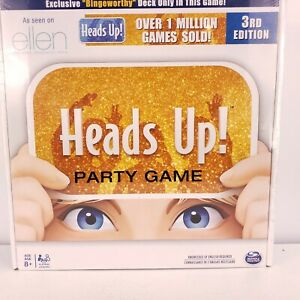 Heads Up Party Game by Spinmaster Games Ellen Degeneres Show Brand New