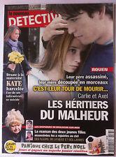 DETECTIVE du 12/12/2012; Rouen; les héritiers du malheur, c'est leurs tour de m