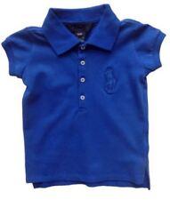 Abbigliamento blu con polo per bambine dai 2 ai 16 anni taglia 2 anni