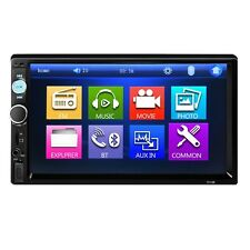 7010B 7 Inch Bluetooth V2.0 MP5 Player Car Audio Stereo Touch Screen AUX TF USB