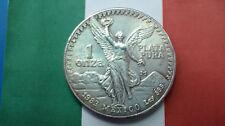 MONEDA DE PLATA PURA MEXICO LIBERTAD 1 ONZA DE PLATA 0.999/1000 AÑO 1983. S/C.