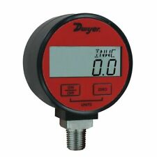 Dwyer DPGA-09 Digital Pressure Gauge for Air/Gas with 1% Accuracy, 0 to 200 psi
