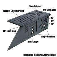 3D Gehrungswinkel Streichmaß Winkelmesser Streichmass Mitre Bevel Measure