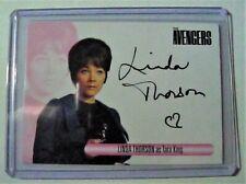 The Women of Avengers Trading Cards Linda Thorson - Tara King Autograph Card