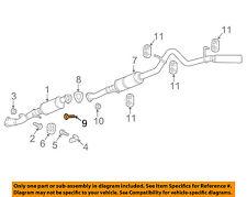 car truck exhaust for chevrolet colorado genuine oem ebay rh ebay com Chevrolet Wiring Diagram 2003 Impala Exhaust Diagram