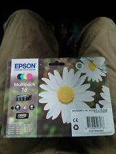Genuine Epson 18 Daisy Multipack Black & Colour Ink Cartridges