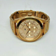 Ladies Tommy Hilfiger Rose Gold Plated Watch TH.182.3.34.1256