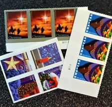 10 usps forever stamps various designs christmas holiday postage stamps