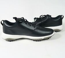 Men s Nike Roshe G Tour Golf Shoes Black Hit AR5580 001 Leather white Size 7 b83140e79
