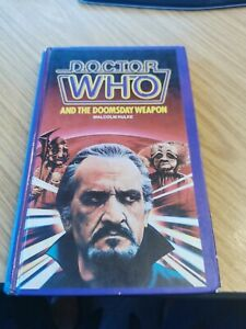DOCTOR DR WHO W H ALLEN HARDBACK - THE DOOMSDAY WEAPON EX LIB