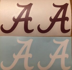 Alabama Tide Classic A Decal 4 Pack*FREE SHIPPING*