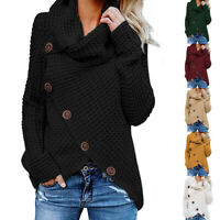 Winter Women Loose Sweater Cardigan Coat Knitting Clothes Fashion Jacket Casual