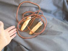 atlus Genuine Leather Speed Skipping Jump Rope For Gym Training Boxing wood