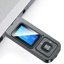 2in1 USB Bluetooth Adapter Sender Empfänger 5.0 Adapter Aptx PC Wireless x 1