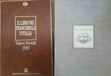 Italia Libro dei francobolli 1993 Buca delle lettere con francobolli RARISSIMO
