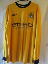 "Manchester City 2011-2012 Goalkeeper Player Issue Football Shirt Size 46"" /16062"