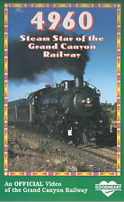 Steam Star of the Grand Canyon Railway No. 4960 - Railroad Steam DVD NEW!