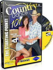NEW! COUNTRY DANCE 101 Video Trautman Beginner Dancing Lesson DVD NIB
