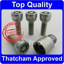 QUALITY WHEEL LOCKING BOLTS FOR VW TOUAREG THATCHAM ALLOY SECURITY NUT [6B]