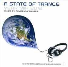 A State of Trance: Year Mix 2012 by Armin van Buuren (CD, Feb-2013, 2 Discs, Armada Music)