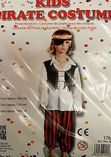 Kinder Piratenkostüm, Kostüm, Pirat, Fasching, Karneval, Größe 104