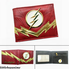 DC The Flash Justice League Pu Wallet Bifold Short Purse Boys Girls Card Pack