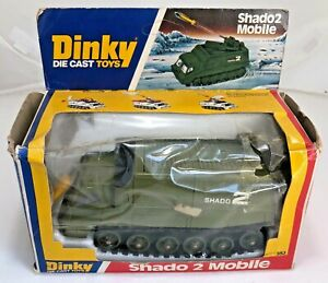 vintage Dinky Shado 2 Mobile 353 N.MINT/MINT BLACK TRACKS Gerry Anderson UFO
