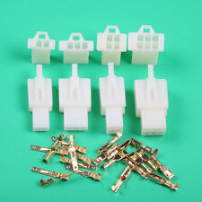 40 Pcs Car Motorcycle Electrical 2.8mm 2 3 4 6 Pin Wire Auto Connector Terminal