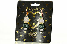 NEW AnUNe- For You Sipellas Earrings No 207, 1 Pair, Silicone Jewelry, women