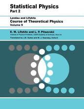 Statistical Physics, Part 2: Volume 9: By L. P. Pitaevskii, E.M. Lifshitz