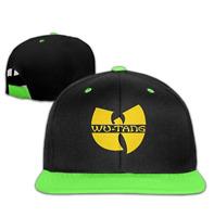 Unisex Adjustable Wu Tang Logo HipHop Baseball Caps Hat For Kids Teenager