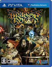 Used PS VITA ??Dragons Crown PlayStation Vita JAPAN OFFICIAL IMPORT