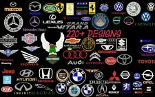 MACHINE EMBROIDERY DESIGNS - 220+ CAR COMPANIES BRAND LOGOS EMBROIDERY DESIGNS