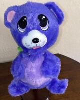 "Fur Berries 10"" Purple Bear  Stuffed Plush 2007 Spin Masters Toy"
