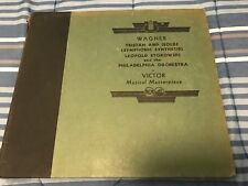 WAGNER TRISTAN AND ISOLDE SYMPHONIC SYNTHESIS LEOPOLD STOKOWSKI 4 ALBUM SET